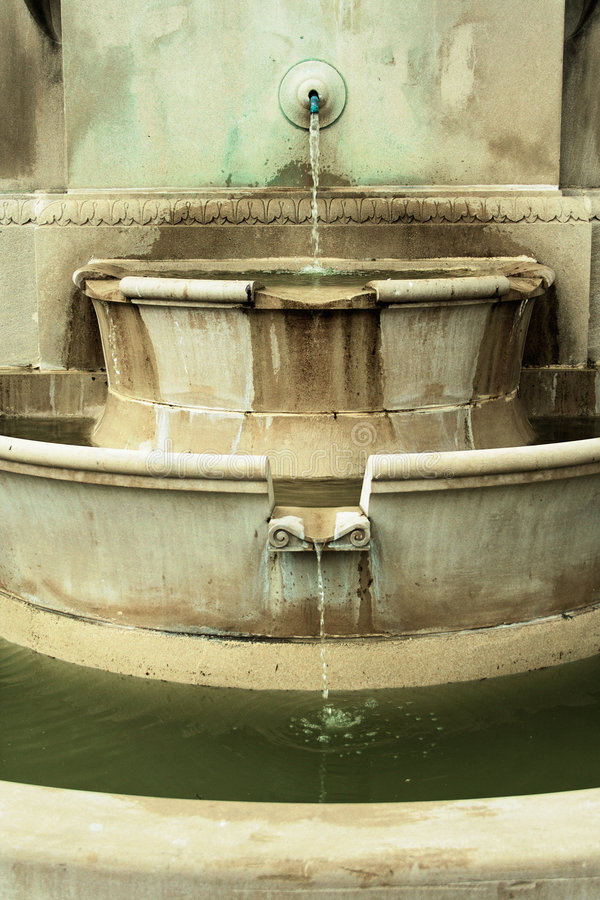 Three Tiered Fountain stock photo
