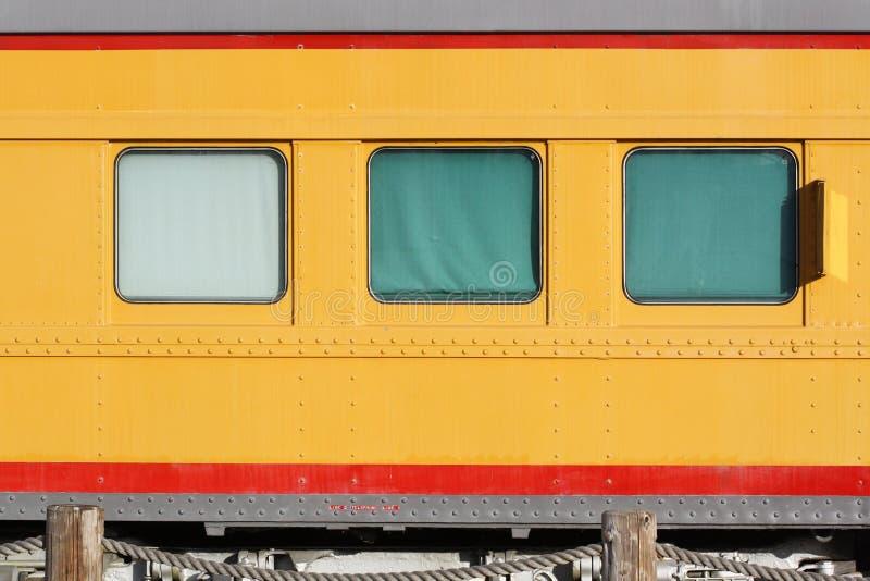 Three Train Windows royalty free stock photography