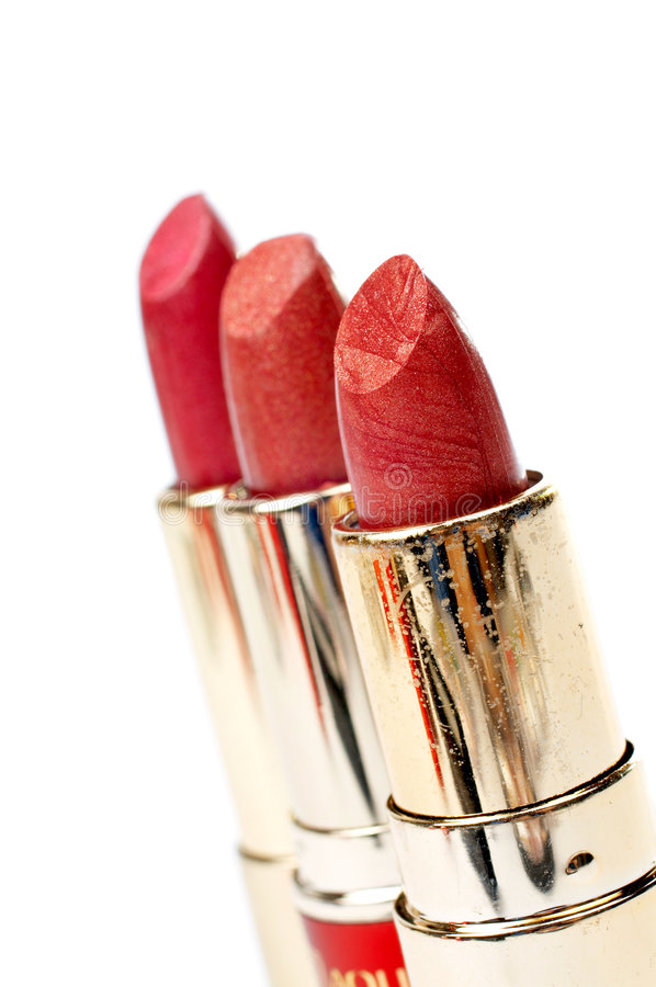 Download Three Tubes Of Red Lipstick Stock Image - Image: 2070351
