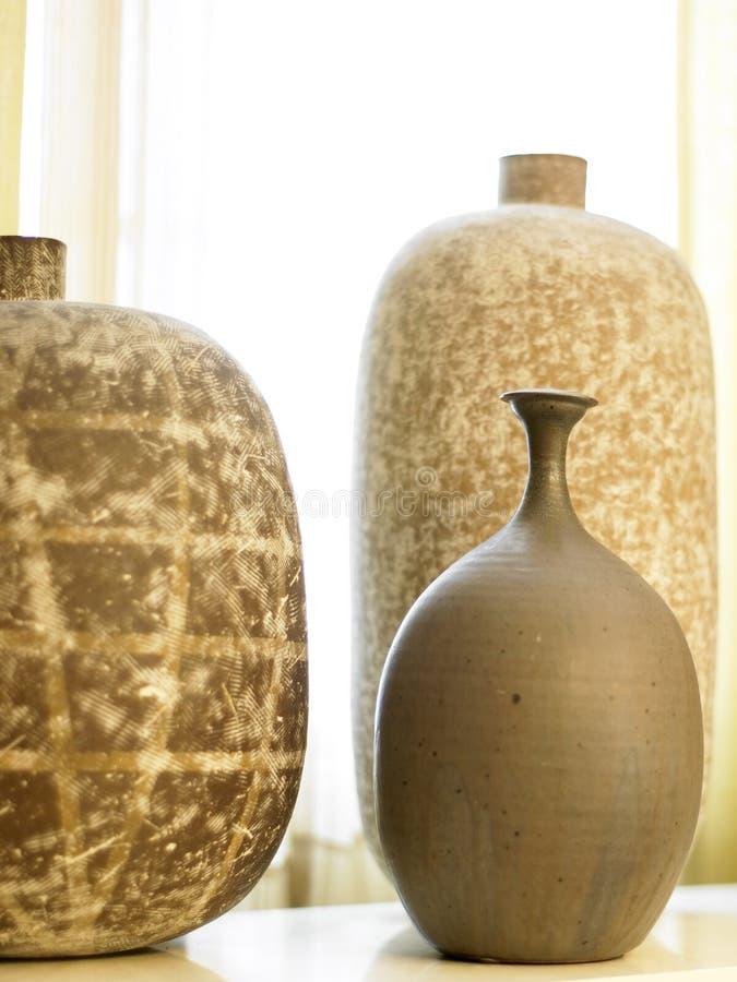 Three Vases Stock Photo Image Of House Vase Texture 8578274