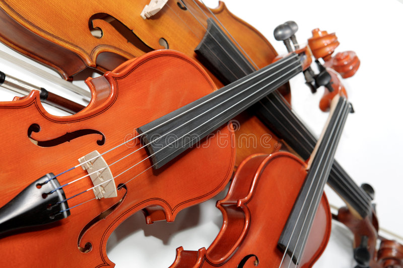 Download Three Violins Stock Photography - Image: 1409182