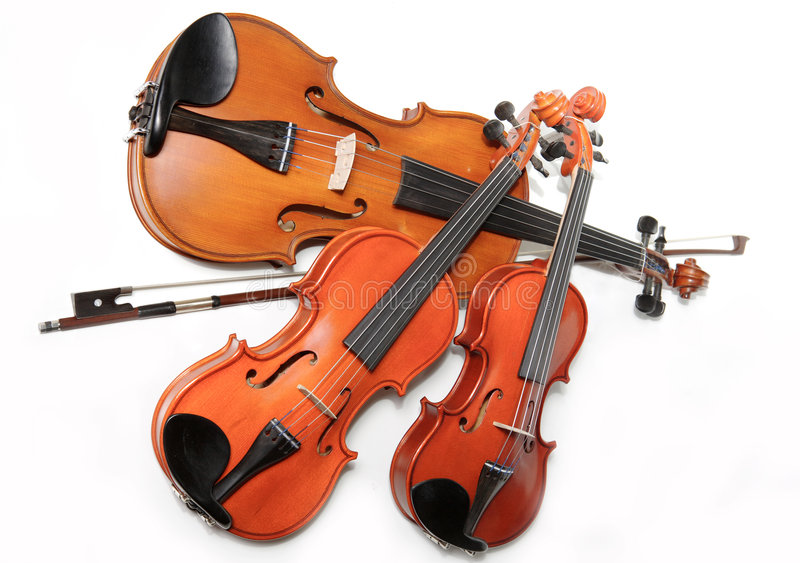 Download Three violins stock photo. Image of strings, closeup, classic - 1409232