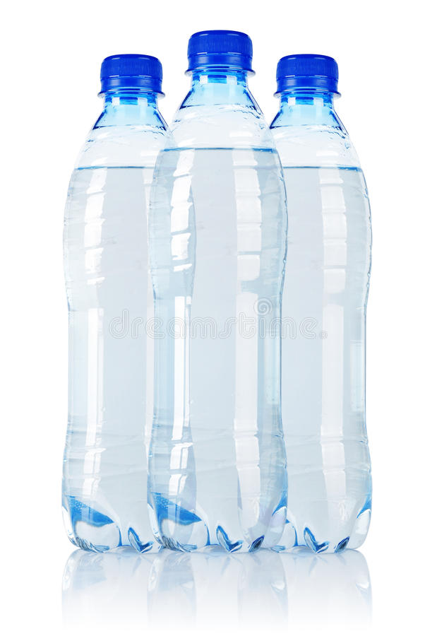 Download Three water bottle stock image. Image of closed, fizzy - 29587177