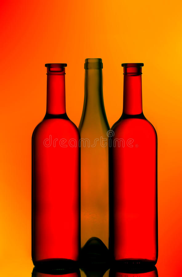 Download Three Wine Bottles Royalty Free Stock Photo - Image: 17849205