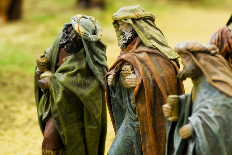 The three wise kings royalty free stock photography