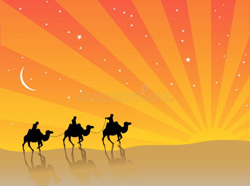 Three Wise Men stock images