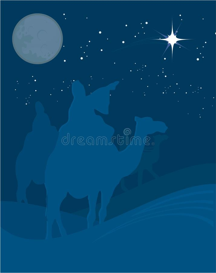 Three Wise Men, Royalty Free Stock Images