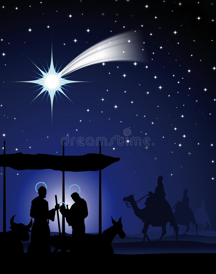 Download The three wise men stock illustration. Image of decoration - 3896599