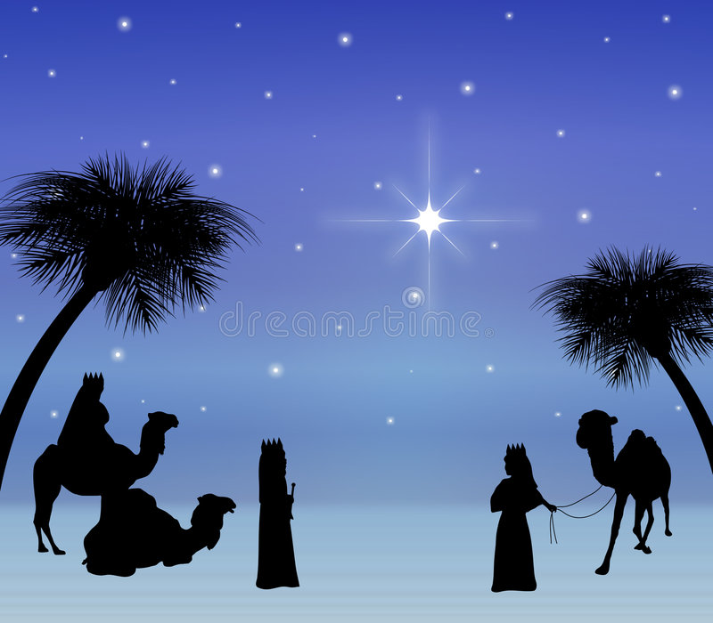 Download Three Wise Men stock illustration. Illustration of christianity - 5175780