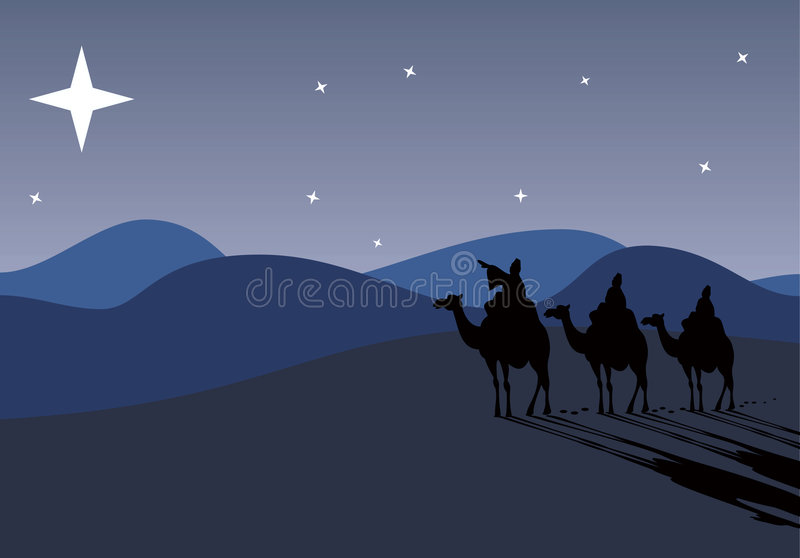 Download Three Wise-men Traveling To Be Stock Vector - Image: 2716761