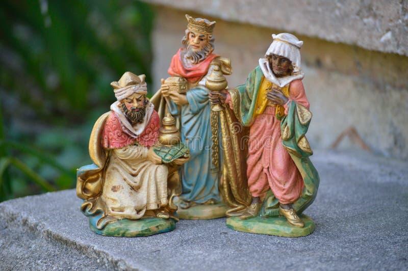 Three wisemen royalty free stock image