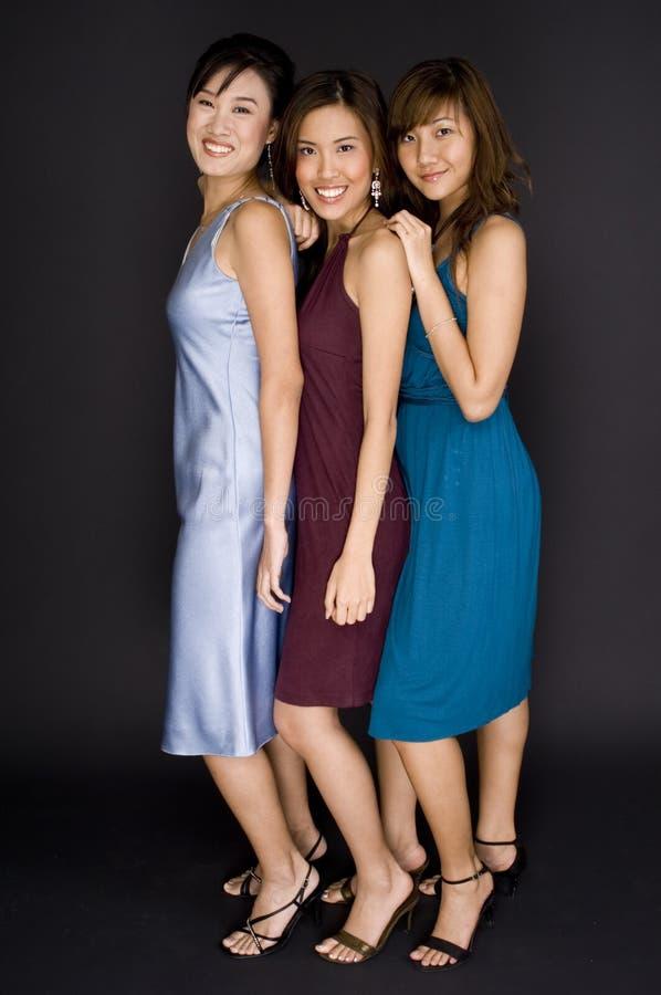 Three Women royalty free stock photography