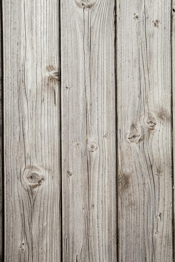 Three wooden planks gray. Vertical background royalty free stock photography