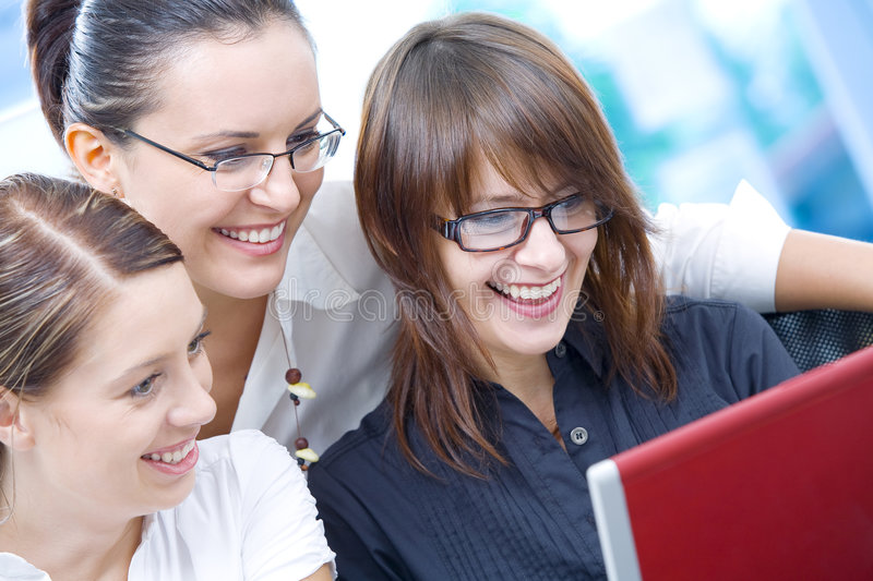 Download Three on workplace stock photo. Image of idea, collaboration - 7348772