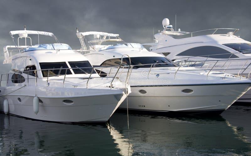 Three Yachts stock photos