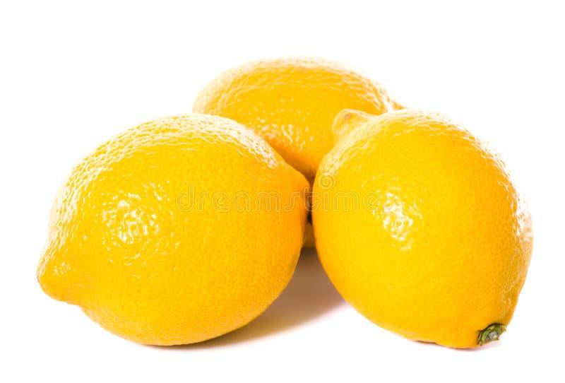 Download Three yellow lemons stock image. Image of palatable, eating - 16147507