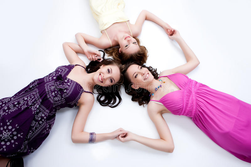 Download Three Young Women stock photo. Image of fashion, lifestyles - 10177882