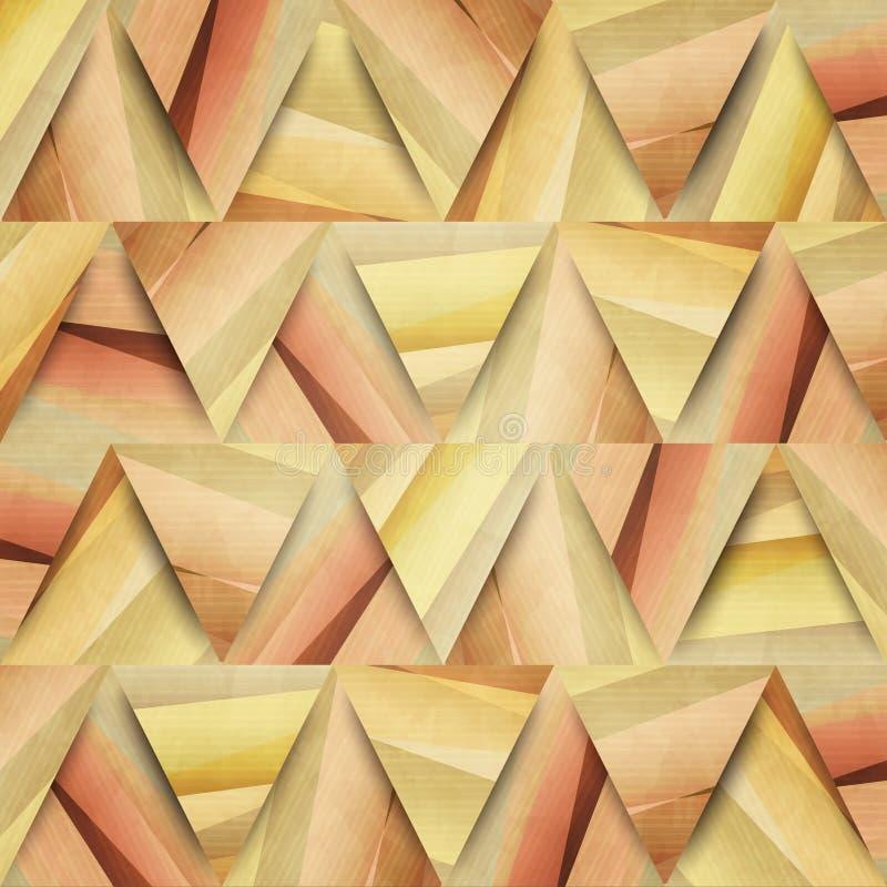 Threegami иллюстрация вектора