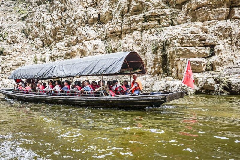 Threet Gorges Yangtze River arkivfoton