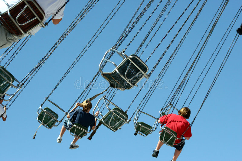 Download Thrill Ride 2 Royalty Free Stock Photos - Image: 1000908