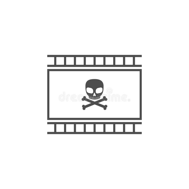 thriller icon. Cinema element icon. Premium quality graphic design. Signs, outline symbols collection icon for websites, web desig vector illustration