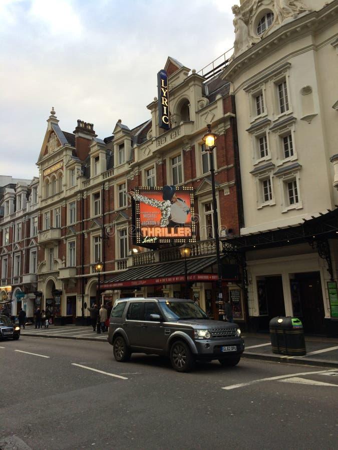 Thrillertheater lizenzfreie stockbilder