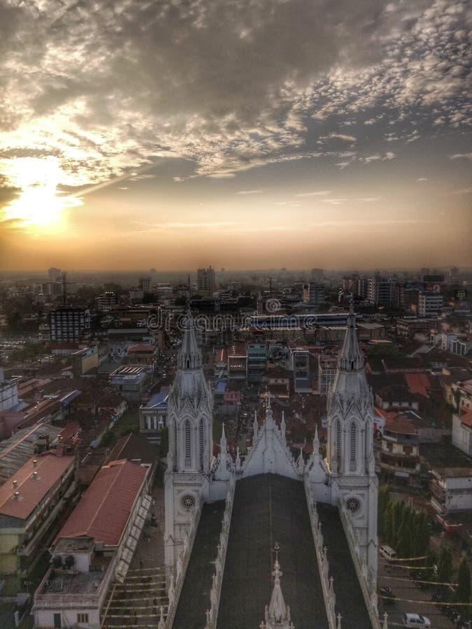 thrissur Κεράλα Ινδία στοκ φωτογραφία με δικαίωμα ελεύθερης χρήσης