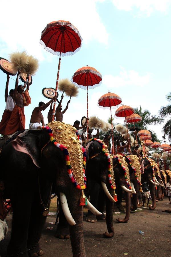 Thrissur Pooram photos stock