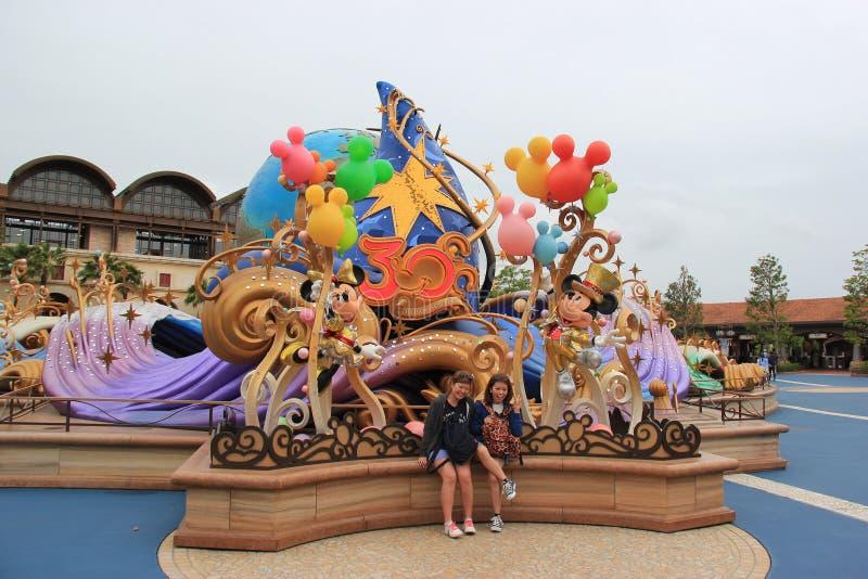 Thrity-Jahr-Disney-Fernsehanimations-Feier in Tokyo DIS lizenzfreie stockfotos