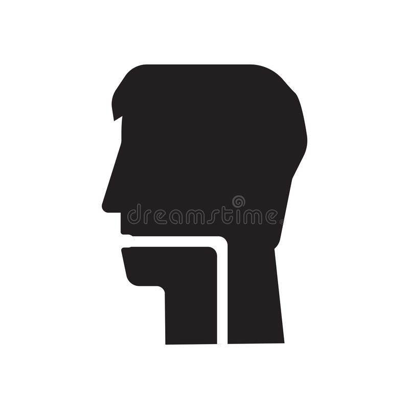 Throat icon vector isolated on white background, Throat sign , medical health symbols. Throat icon vector isolated on white background, Throat transparent sign vector illustration