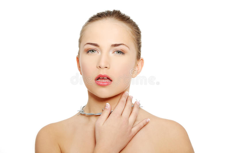Download Throat Pain Concept. Royalty Free Stock Image - Image: 22474016