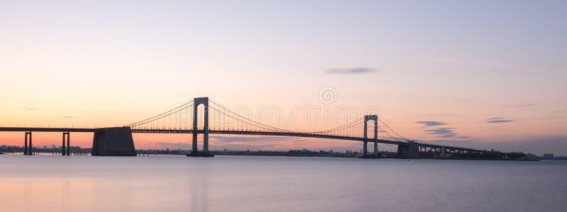 Throgs halsbro - NYC arkivbild