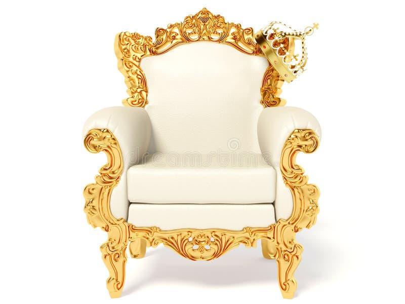 Throne royalty free stock photos