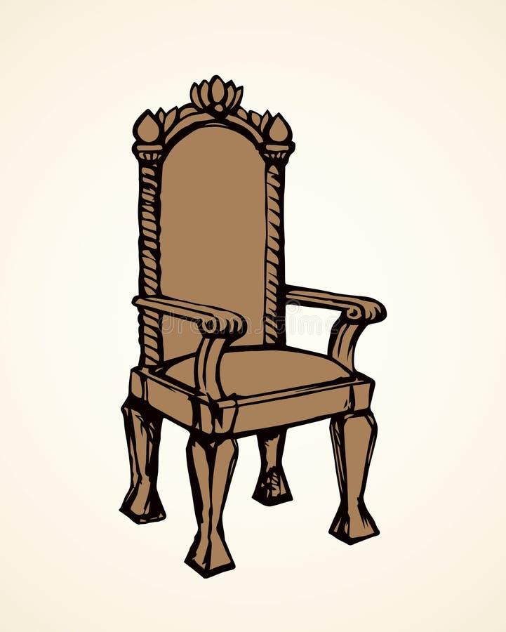 throne Illustrazione di vettore illustrazione vettoriale