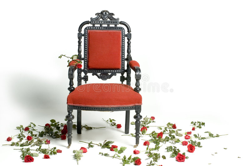 Throne of Importance stock photography