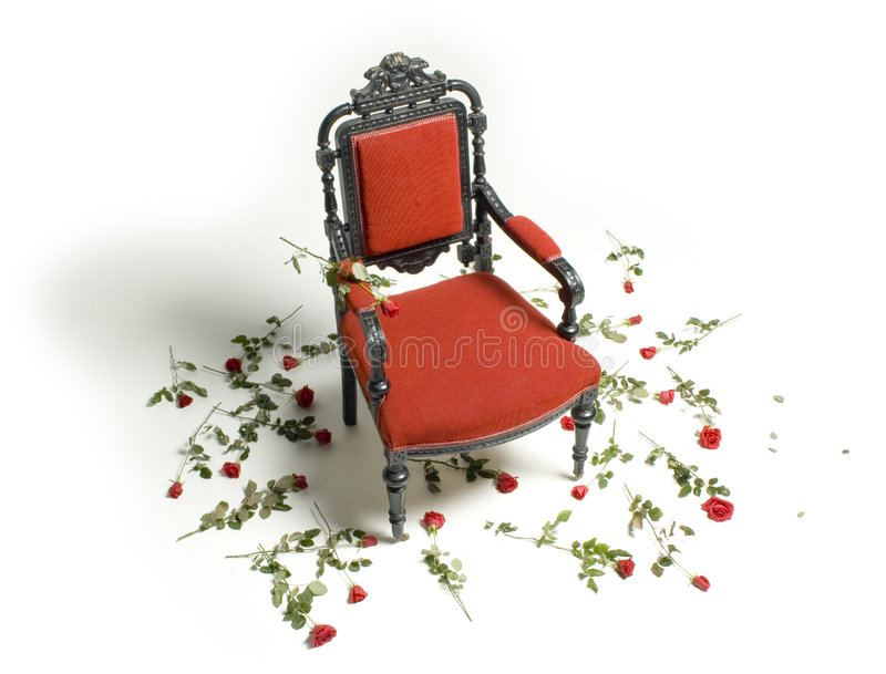 Throne of Importance royalty free stock photo