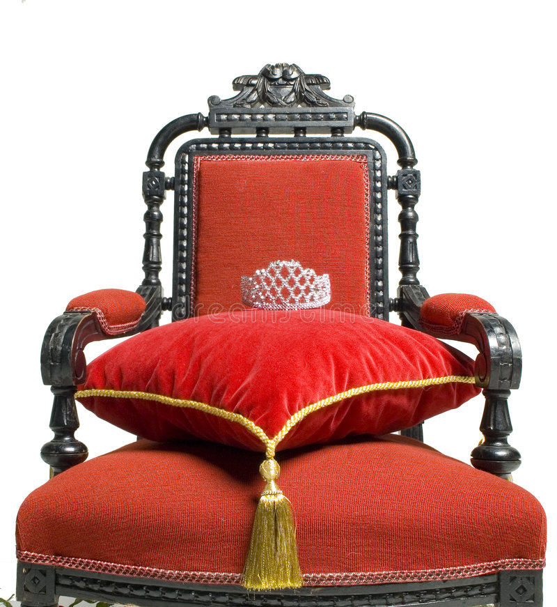 Throne of Importance royalty free stock image