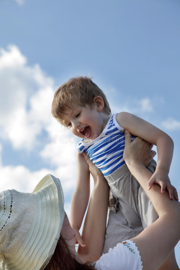 Download Throw a child stock image. Image of mother, offspring - 24568233