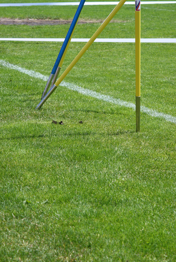 Download Throwing the javelin stock photo. Image of field, grass - 5461208