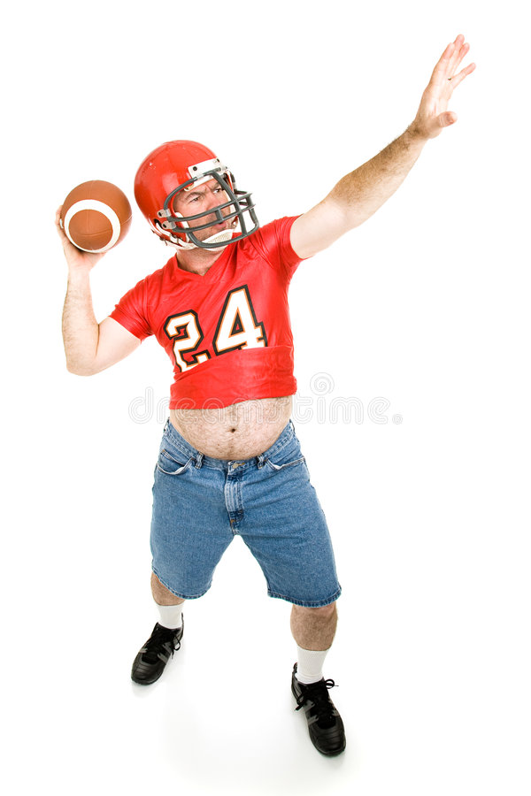 Free Throwing The Football Stock Photo - 6513430