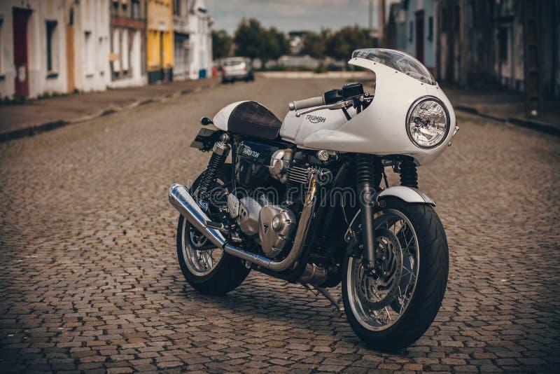 Thruxton 1200 di Triumph fotografie stock