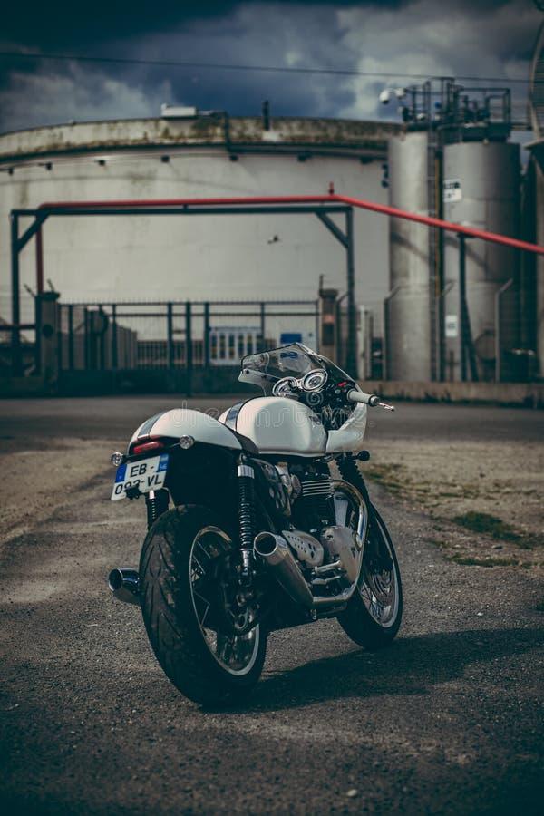 Thruxton 1200 di Triumph immagini stock libere da diritti
