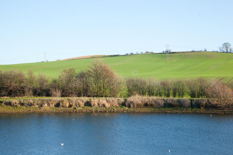 Download Thrybergh Reservoir stock photo. Image of river, pond - 22760626