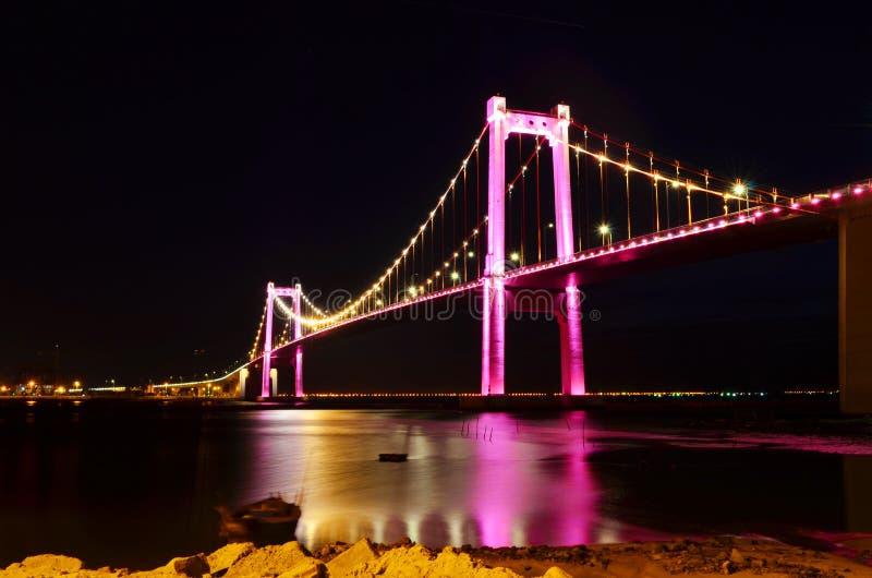 Thuan Phuoc Brücke 6 stockbild