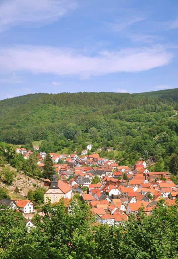 Thueringer Wald, Thueringen, Thuringia imagens de stock