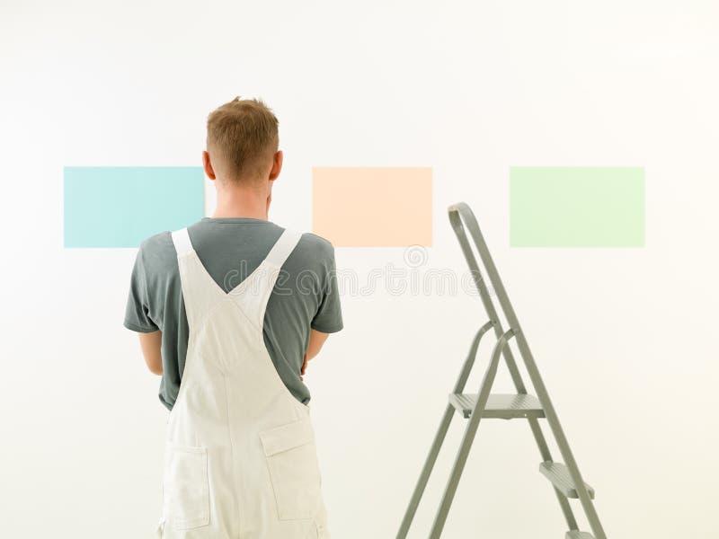 Thuiswerkoogst een kleur stock afbeelding