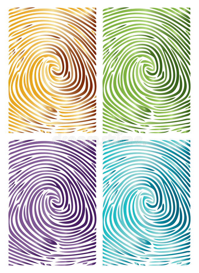 Thumb Abstract Background stock illustration