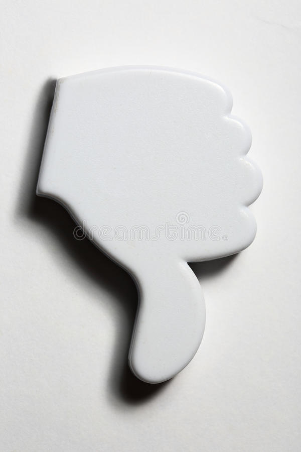 Download Thumb down stock photo. Image of controvert, mark, icon - 28386704
