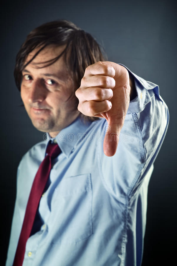 Download Thumb down stock photo. Image of male, disappointed, people - 29329118