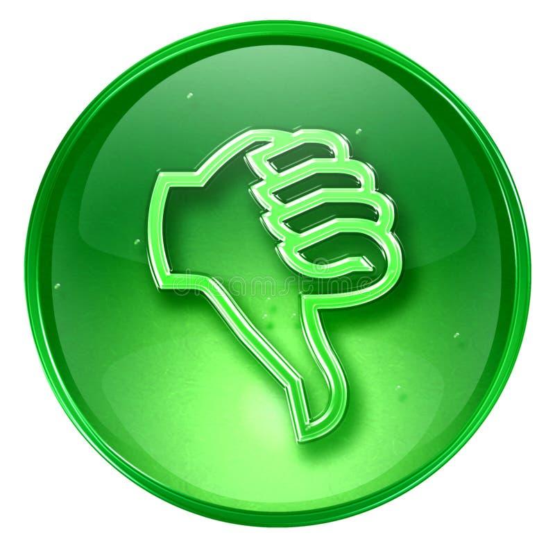 Thumb down icon royalty free stock photo